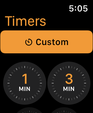 Customize your timer.