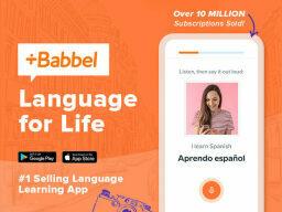 Save 60% onBabbel Language Learning