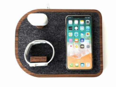Wireless Charging Dock for iPhone/Apple Watch and Lightning Connector — $101.99