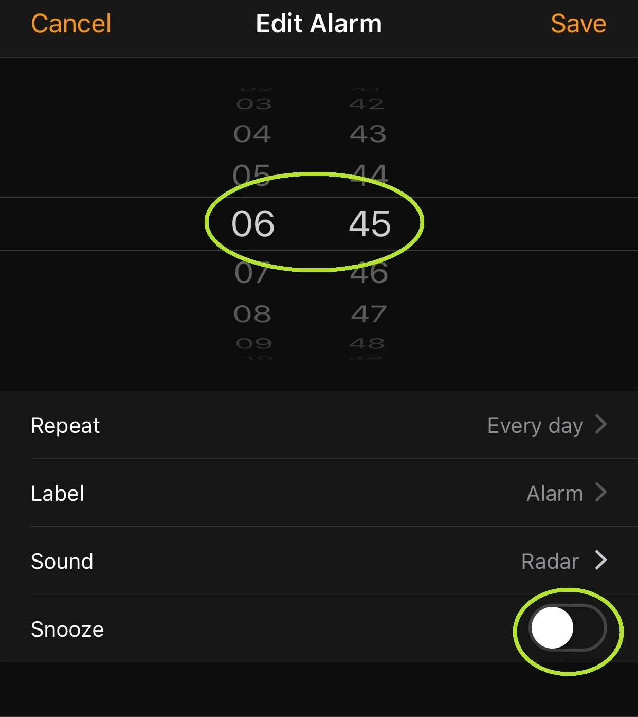 We don't need your snooze, Apple. We're creating our own.