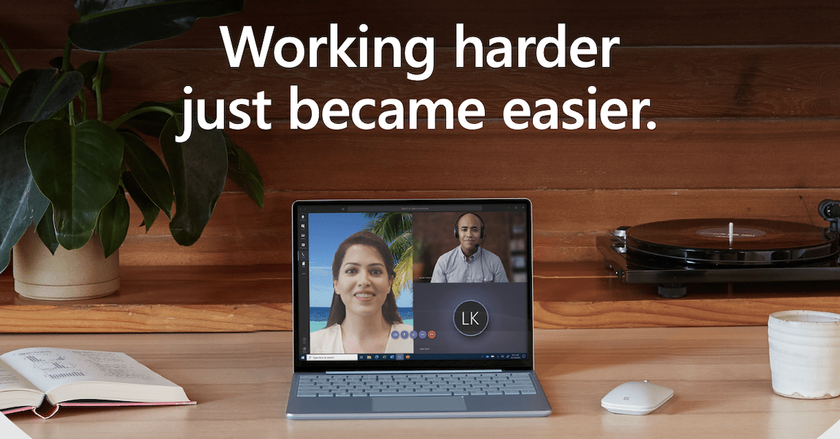 Working harder just became easier