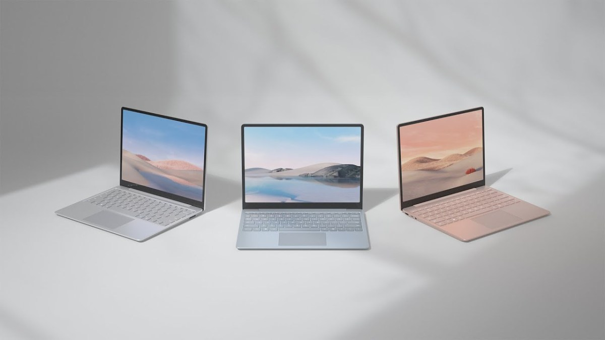 Introducing the new Surface Laptop Go