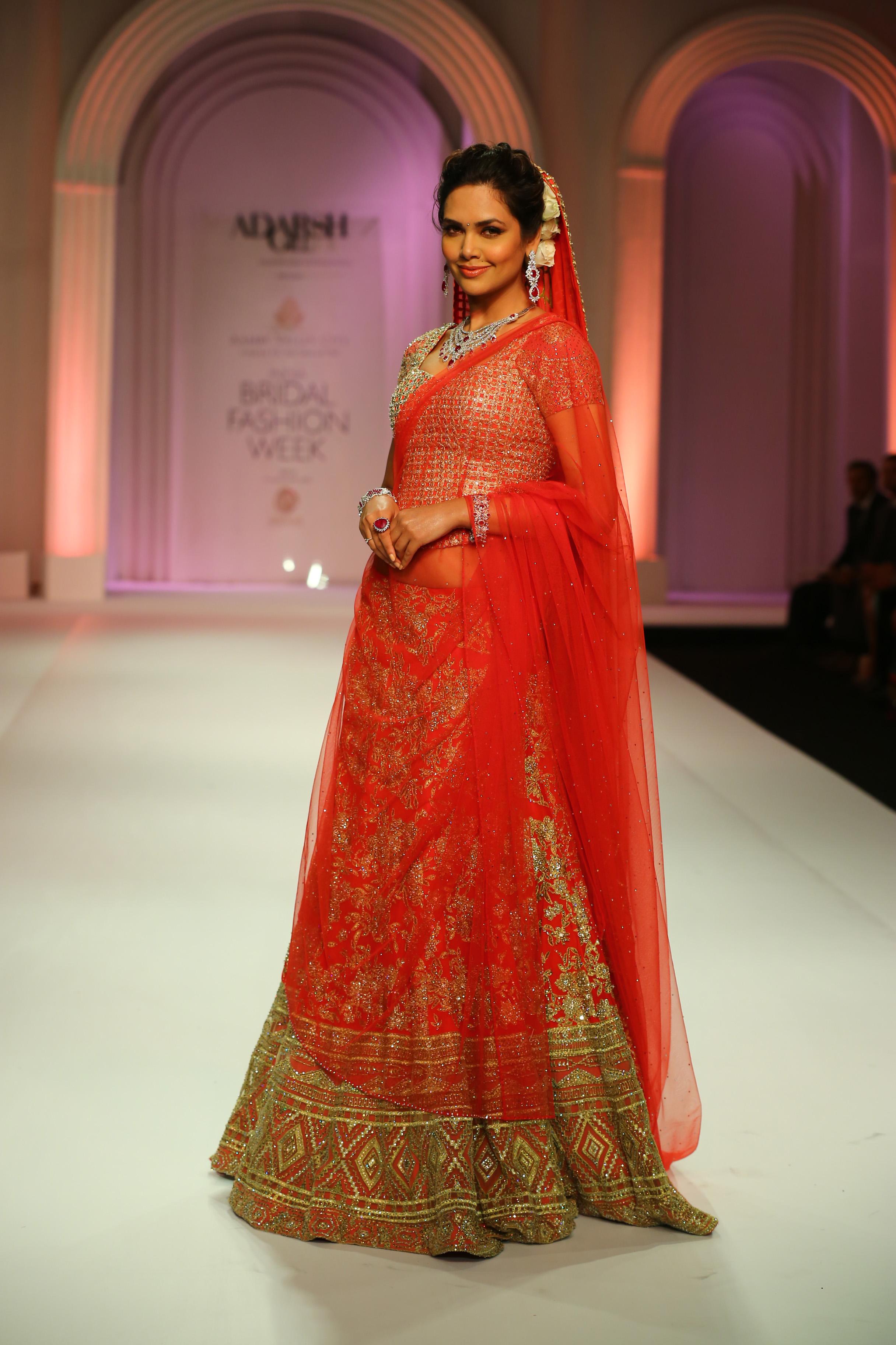 India Bridal Fashion Week Helipad On Heels