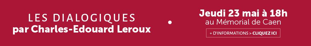 bannière conférence charles-edouard leroux