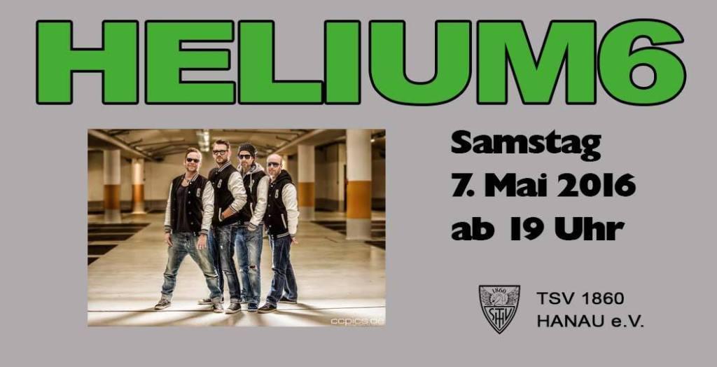 Helium6 | TSV 1860 Open Air Sportplatzfest