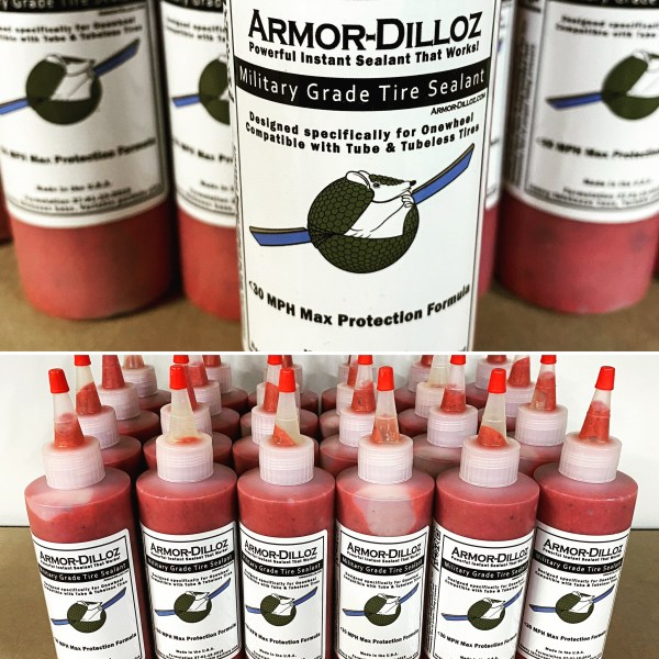 Red Armor-Dilloz Maximum Effect – Onewheel Tyre Sealant