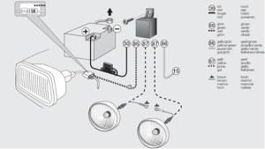Hella 500 fog light wiring diagram  Wiring images