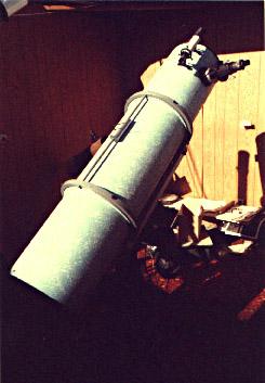 Το κατοπτρικό τηλεσκόπιο, στο αστεροσκοπείο του Anthony - 1982
