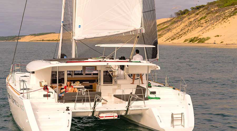 DANIELA II - Crewed Charter Catamaran Greece - HELLAS YACHTING