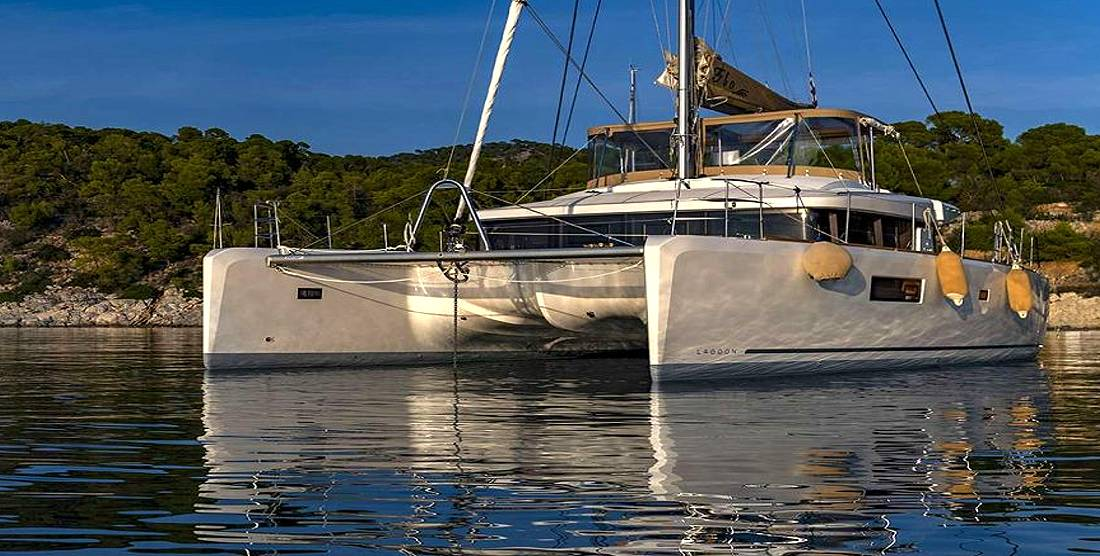 FLO - Crewed Charter Catamaran in Greece - Hellas Yachting