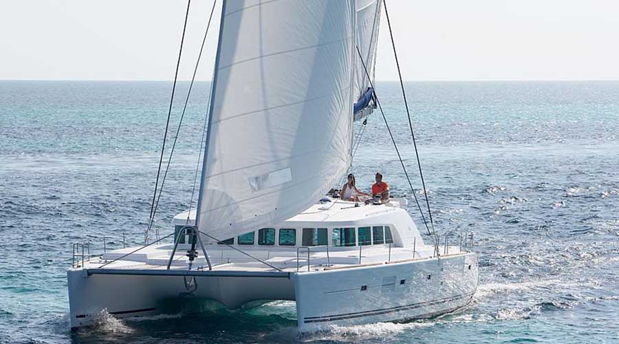 INFINITY - Crewed Catamaran for Charter in Greece -HELLAS YACHTING