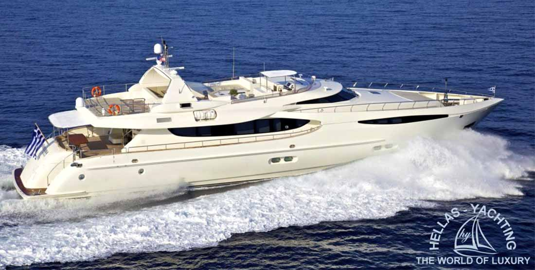 Motor Yacht Sanjana - Luxury Yachts Charter Greece - Hellas Yachting