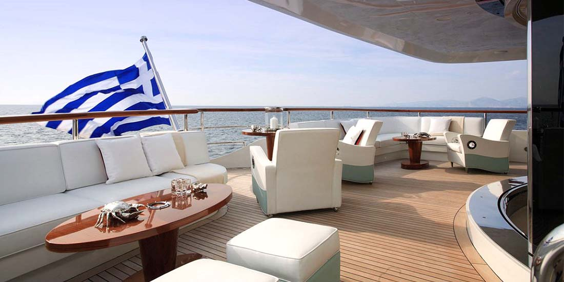 SUNDAY - Charter Super Yacht in Greece - HELLAS YACHTING
