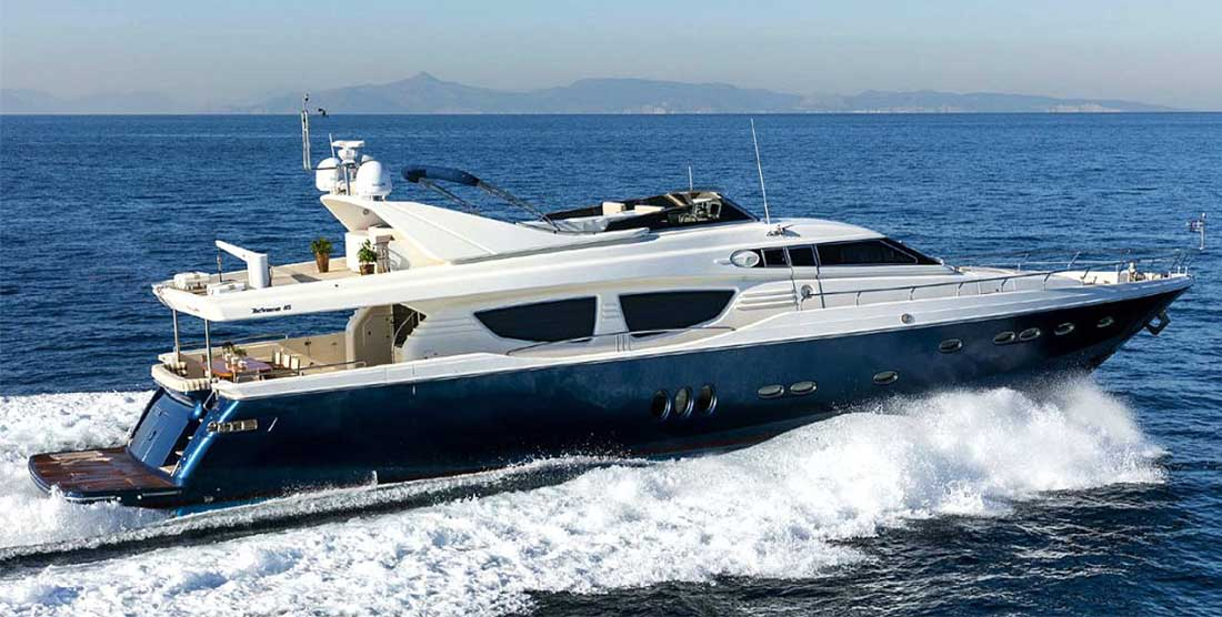 Motor Yacht MYTHOS - Luxury Motor Yachts Greece - HELLAS YACHTING