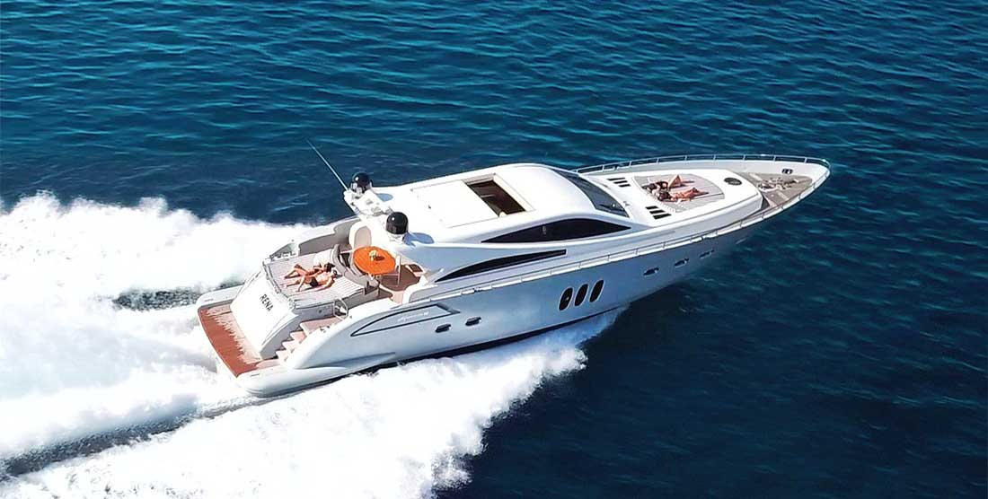 Motor Yacht RENA - Luxury Yachts Charter Greece - HELLAS YACHTING