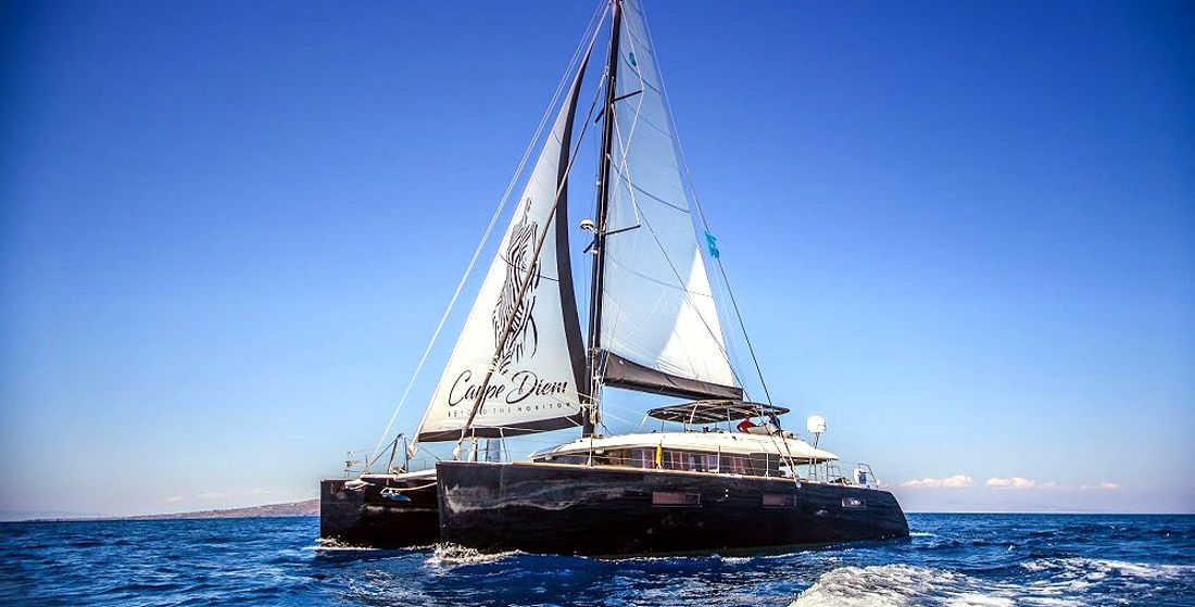 CARPE DIEM - Crewed Charter Catamaran in Greece - Hellas Yachting