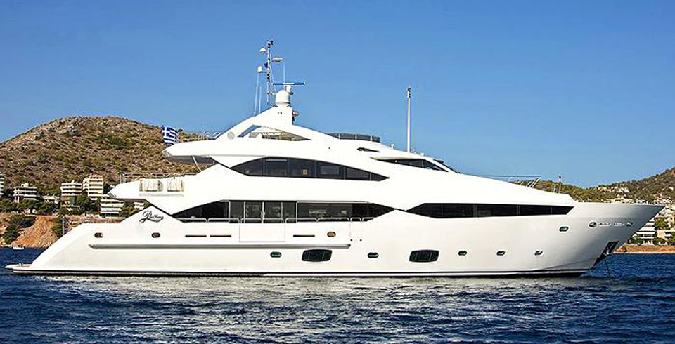 PATHOS- Charter Luxury Motor Yacht in Greece - HELLAS YACHTING