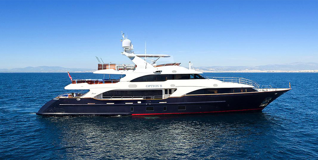 OPTION B - Luxury Motor Yachts Charter in Greece and Monaco - HELLAS YACHTING