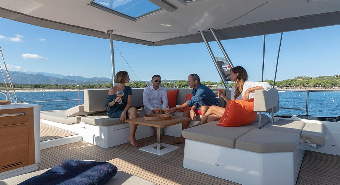 NUMBER ONE - Crewed Catamarans Charter Greece - HELLAS YACHTING