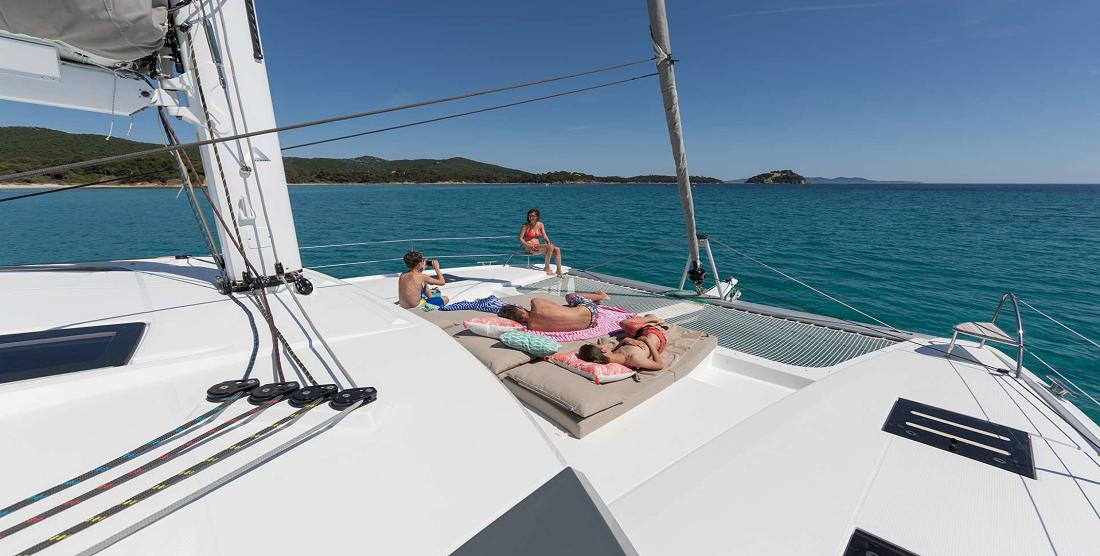 ANNABELLA - Crewed Charter Catamaran in Greece - HELLAS YACHTING
