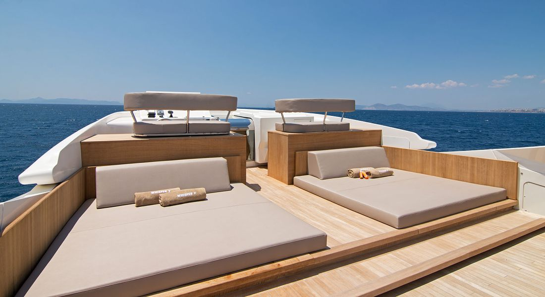WHISPER V - Luxury Charter Yacht Greece - HELLAS YACHTING