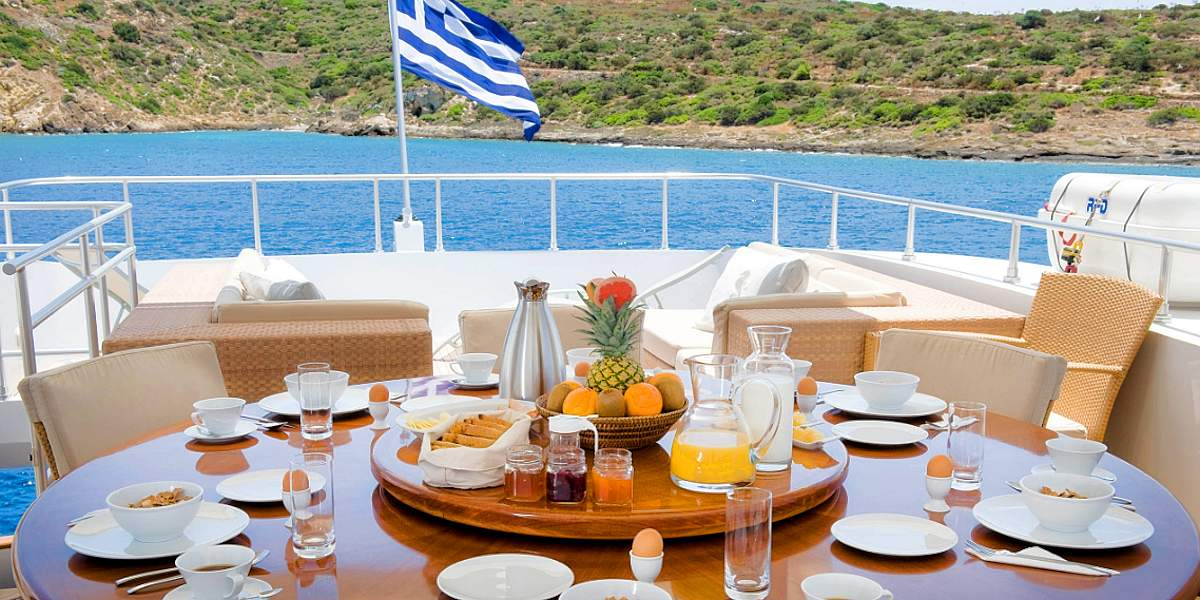 ITHAKI - Luxury Motor Yacht Charter in Greece - HELLAS YACHTING