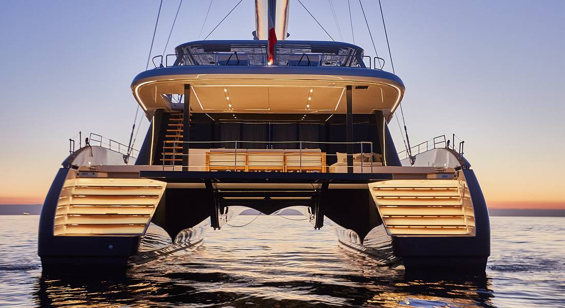 Catamaran GENNY for Charter in Greece - HELLAS YACHTING