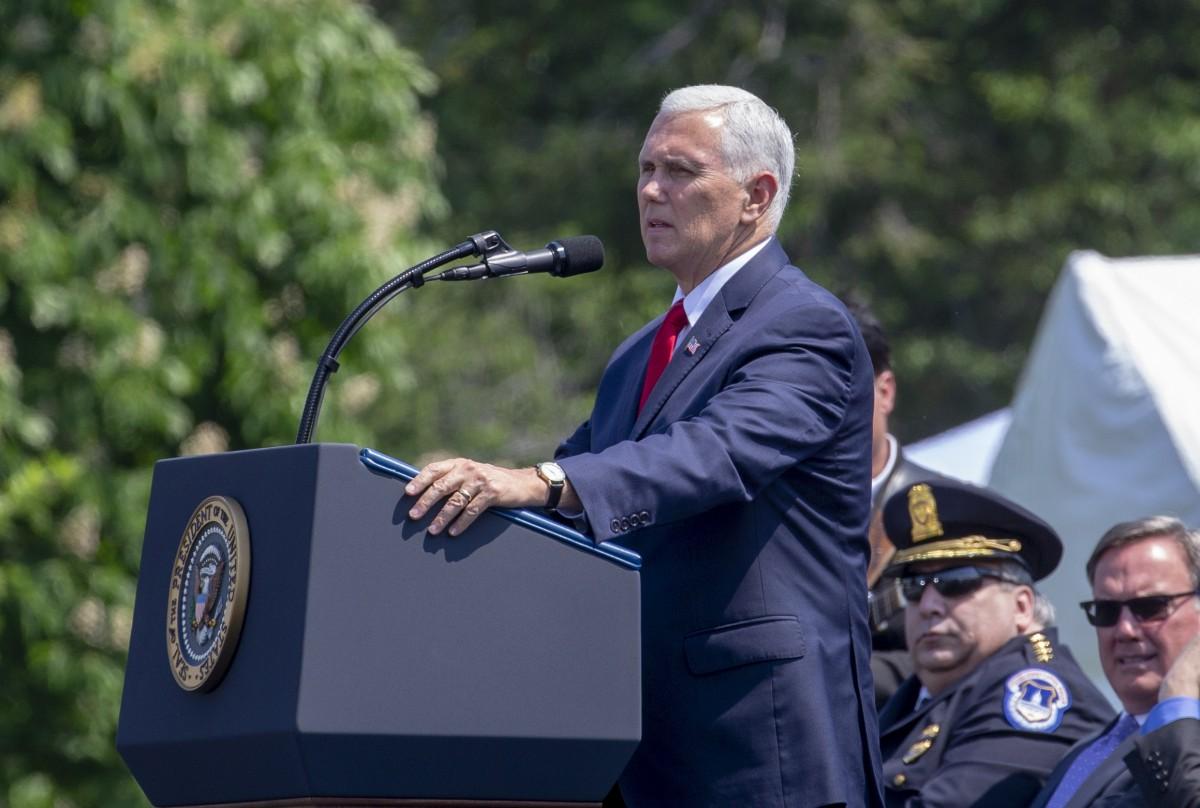 Με το συμπάθειο κ. Αντιπρόεδρε των ΗΠΑ: Δεν απειλείται η ειρήνη από το όνομα των Σκοπίων