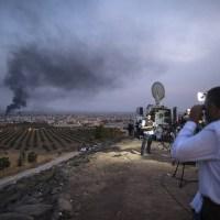 Σφοδρές μάχες μεταξύ Τούρκων εισβολέων και Κουρδικών δυνάμεων στη Συρία