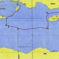 Επιβεβαιώνουν την παρανομία τους οι Τούρκοι: Καθορίζουν την ΑΟΖ στα 45 μίλια από την Κρήτη