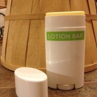 Homemade Lotion Bars in Containers