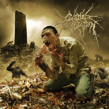 Cattle Decapitation - Monolith of Humanity cover art