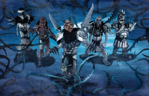 Gwar, Balsac the Jaws of Death, Jizmak Da Gusha, Oderus Urungus, Pustulus Maximus, Beefcake the Mighty