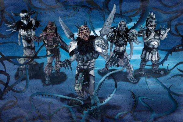 Gwar, Balsac the Jaws of Death, Jizmak Da Gusha, Oderus Urungus, Pustulus Maximus, Beefcake the Mighty