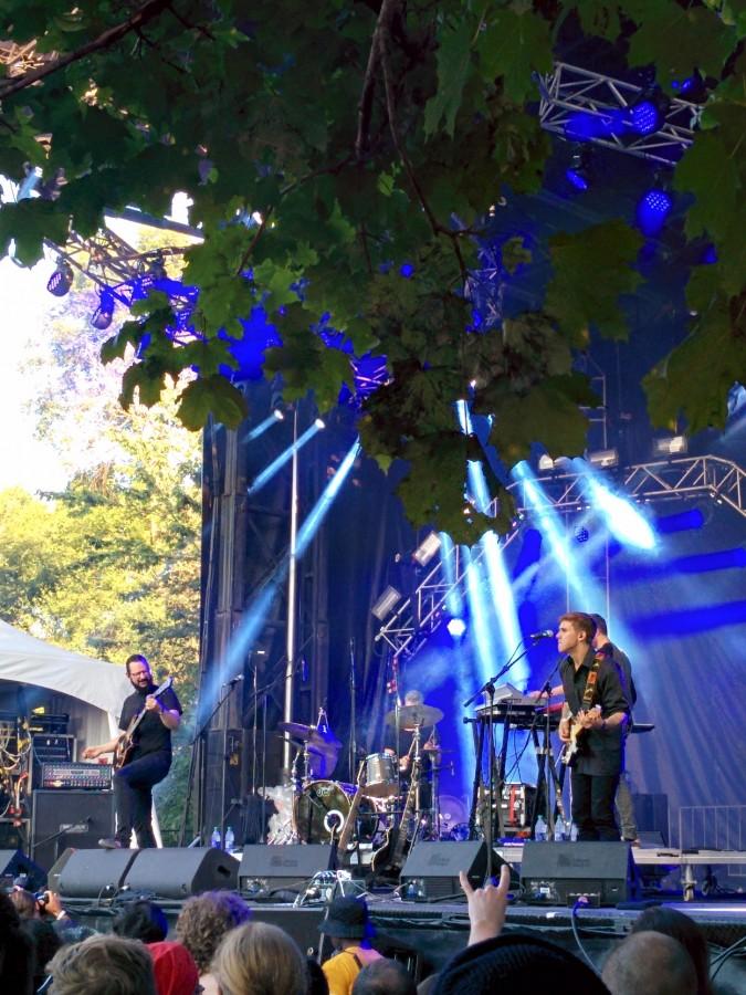 Ihsahn at Heavy Montreal 2015.