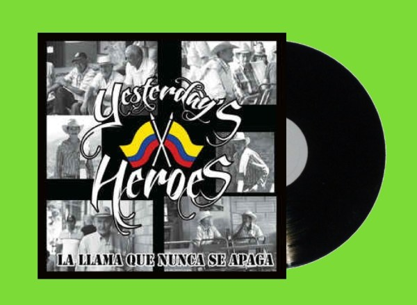 yesterday's heroes La Lllama EP cover