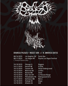 ORANSSI PAZUZU announce first NA Tour