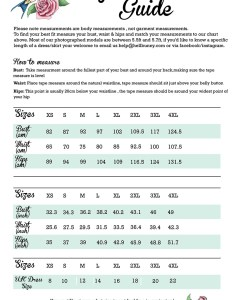 Hellbunny size guide also rh