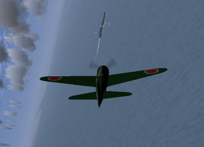 A6M2 and Nimitz