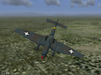 Junkers 87 Stuka Divebombing Enemy Base