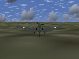 ground bound Stuka after ammunition depletion