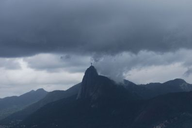 Christ The Redeemer overlooking the city