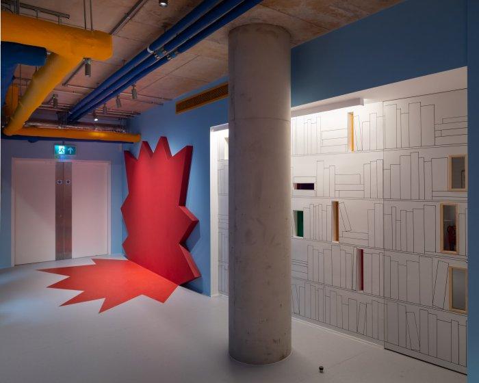 Cartoon Museum, Λονδίνο, από το Sam Jacob Studio