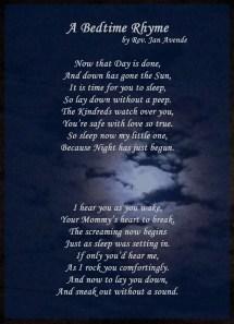 Bedtime Prayer - Year of Clean Water