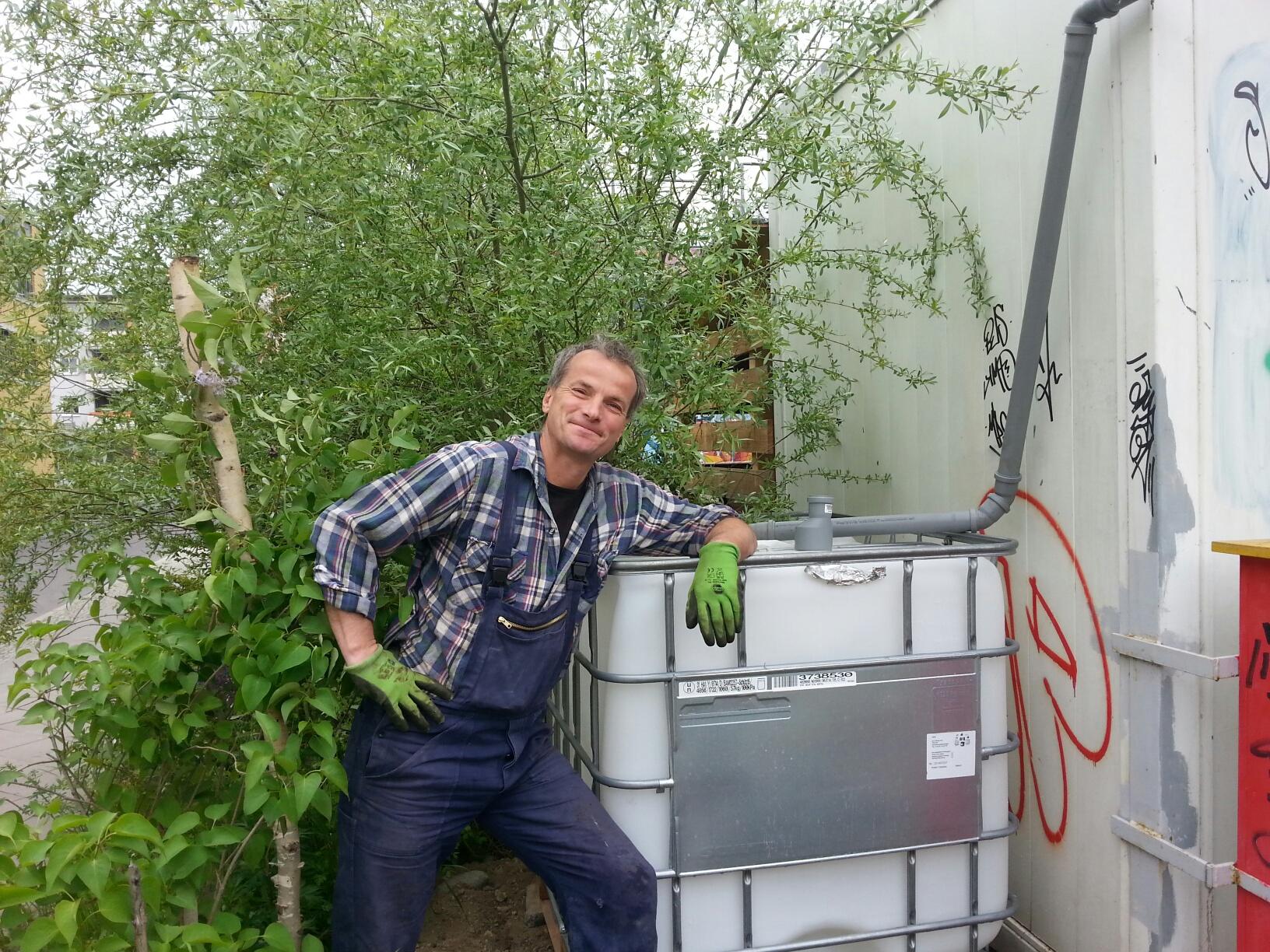 Container  Brgergarten Helle Oase