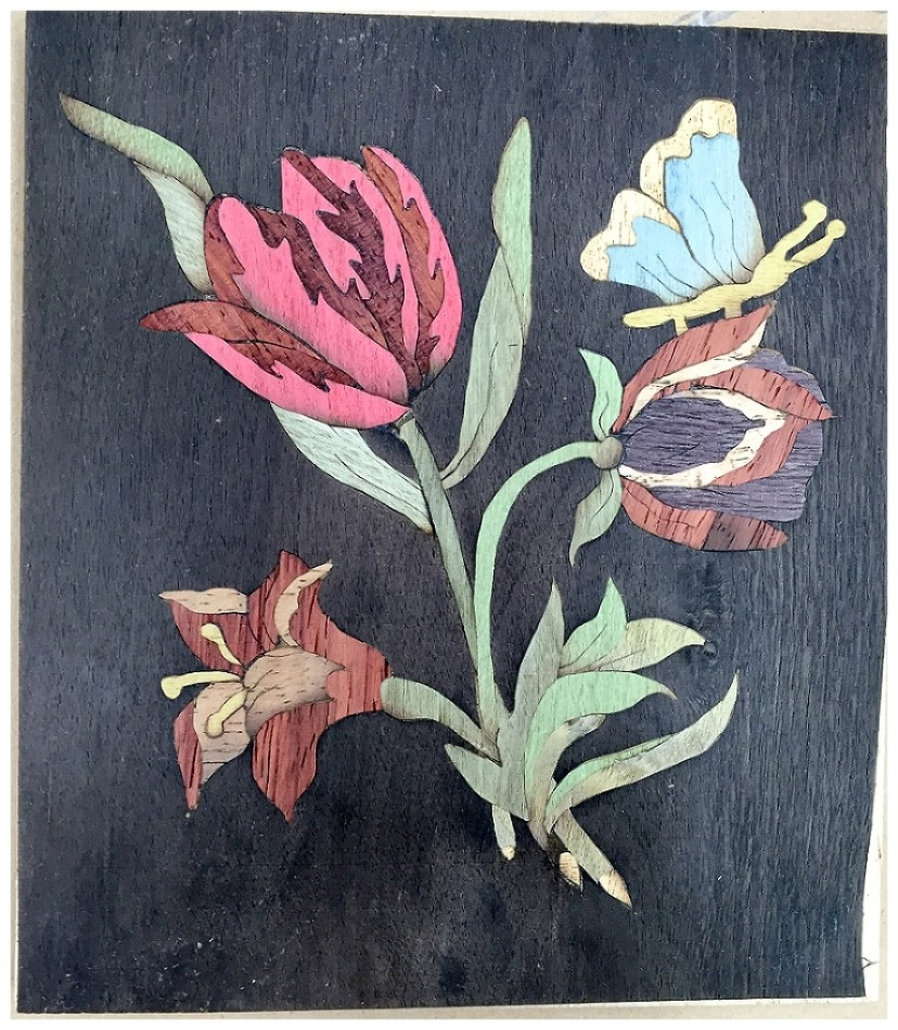 Picture 2 Painting in Wood complete-1388