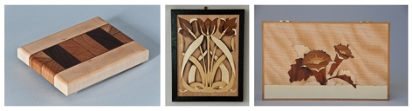 Heller & Heller Furniture   End Grain cutting Boards and Marquetry