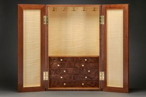 Heller & Heller Furniture | 66th street art deco jewelry cabinet