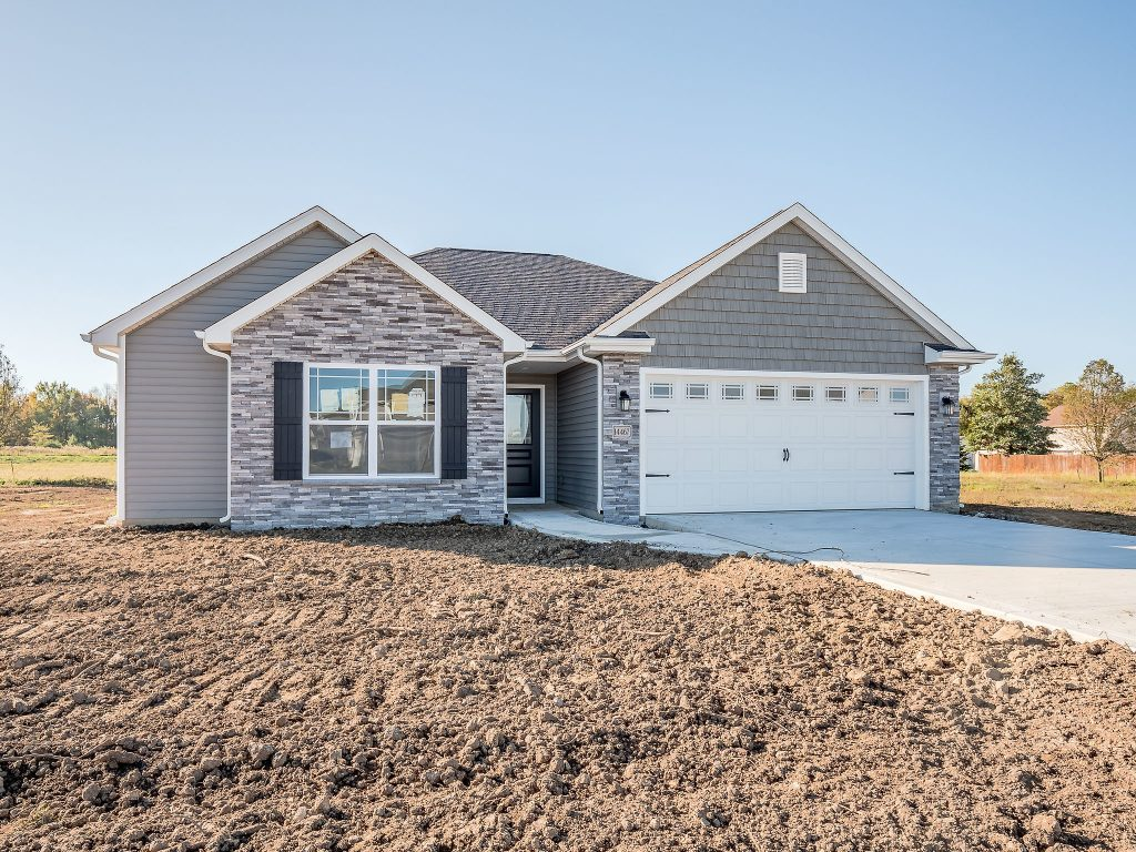 Alexa Floor Plan, Ranch Home, Heller Homes 47 Bristoe