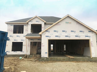 Heller Homes Available Homes - A picture our Lot 38 Bristoe Andrew Floor Plan